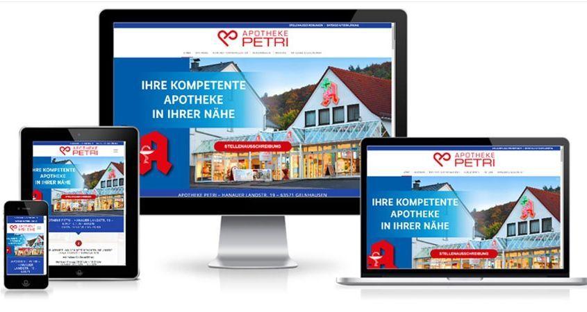 Referenz Apotheke Petri   CTC Media GmbH