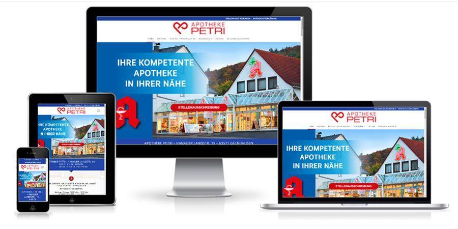 Referenz Apotheke Petri | CTC Media GmbH