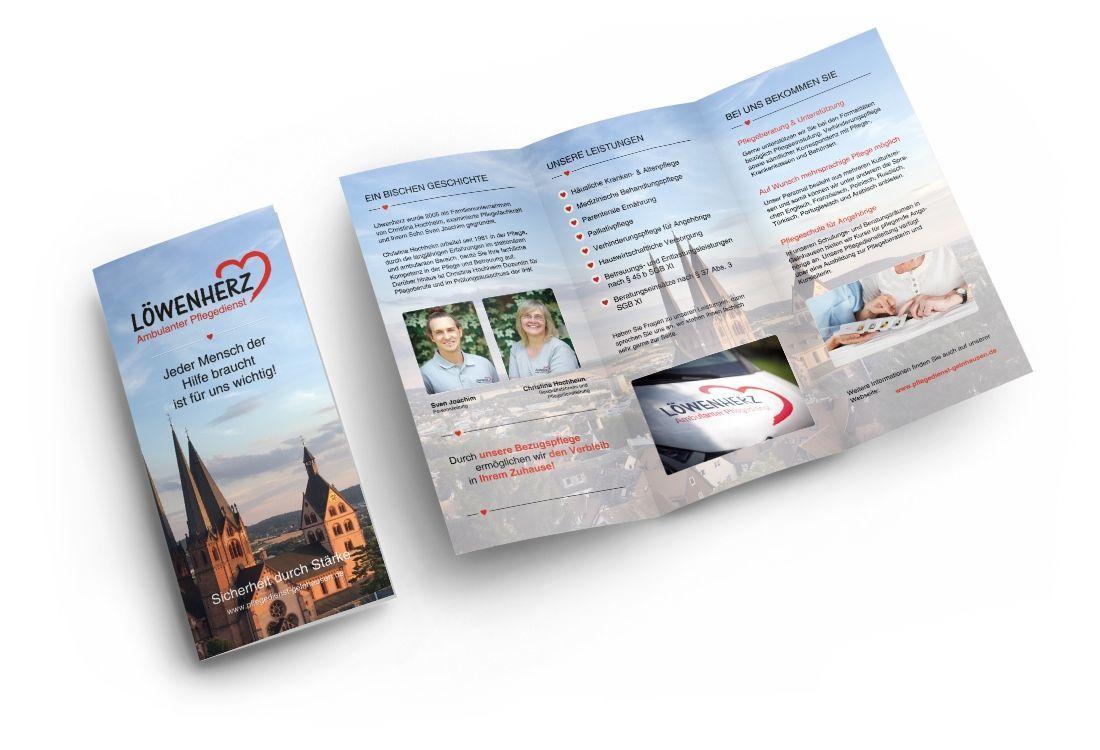 Flyer | Pflegedienst Löwenherz
